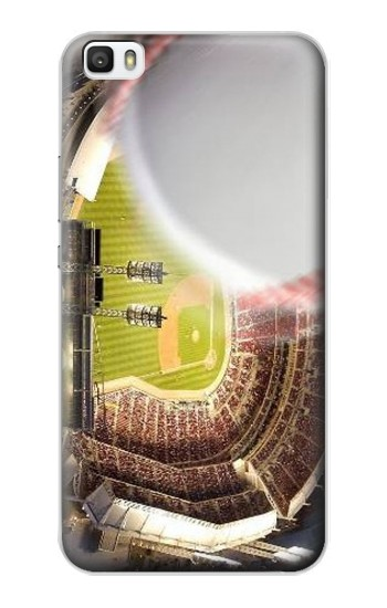 Printed Baseball Home Run Huawei P8max Case