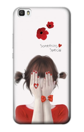 Printed Something Special Girl Huawei P8max Case