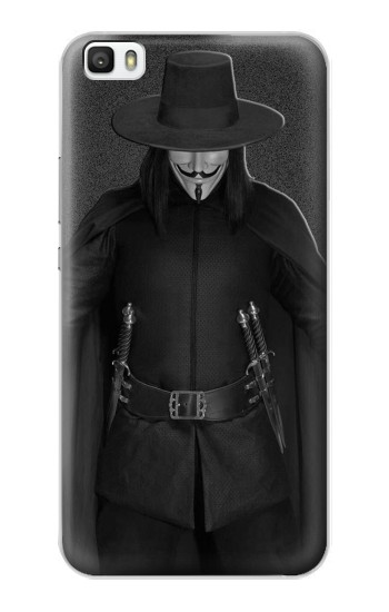 Printed V Mask Guy Fawkes Anonymous Huawei P8max Case