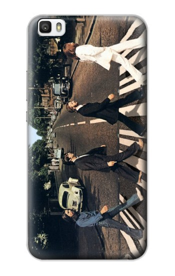 Printed The Beatles Abbey Road Huawei P8max Case