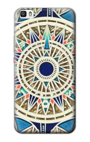 Printed Compass Huawei P8max Case