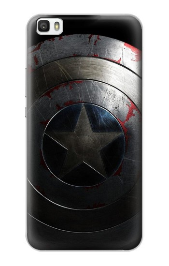 Printed Captain Shield Huawei P8max Case