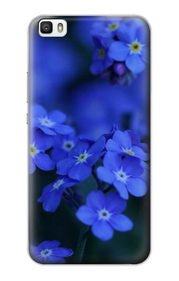 Printed Forget me not Huawei P8max Case
