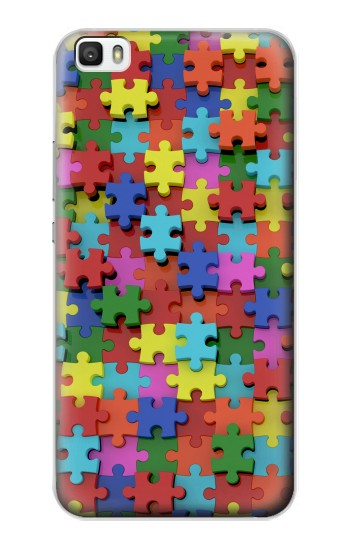 Printed Puzzle Huawei P8max Case