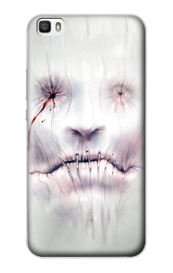 Printed Horror Face Huawei P8max Case