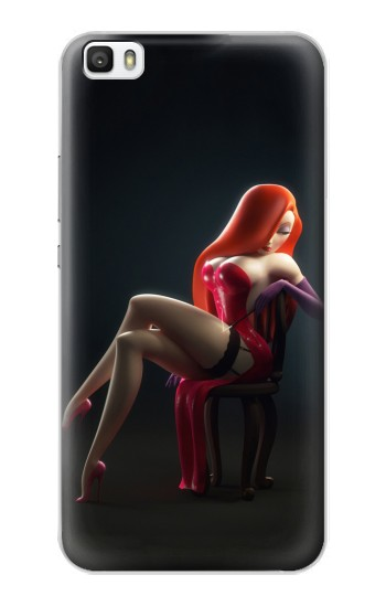 Printed Hot Sexy Bunny Girl Huawei P8max Case