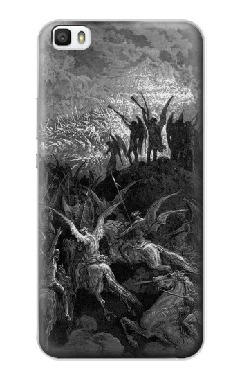 Printed Gustave Dore Paradise Lost Huawei P8max Case