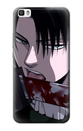 Printed Attack on Titan Rivaille Levi Huawei P8max Case