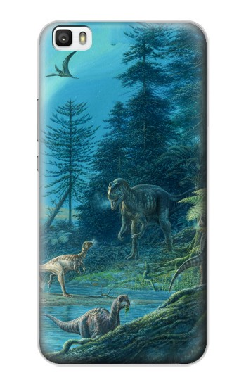 Printed Jurassic Park Dinosaurs Huawei P8max Case