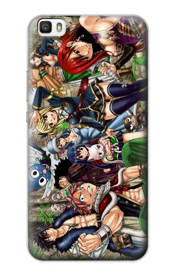 Printed Fairy Tail Guild Members Huawei P8max Case