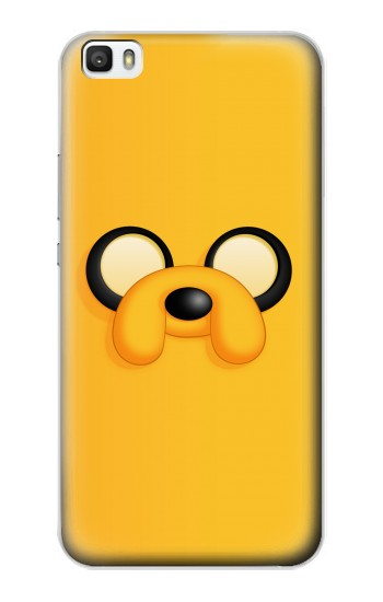 Printed Adventure Time Jake Face Huawei P8max Case