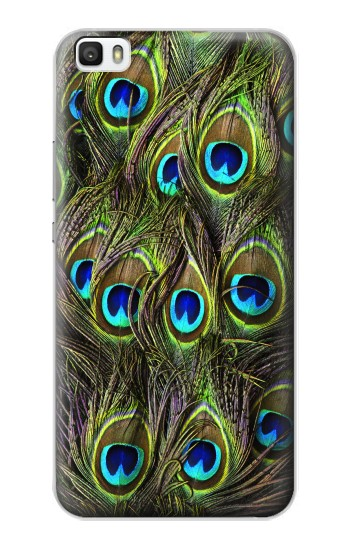 Printed Peacock Feather Huawei P8max Case
