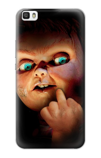 Printed Chucky Middle Finger Huawei P8max Case