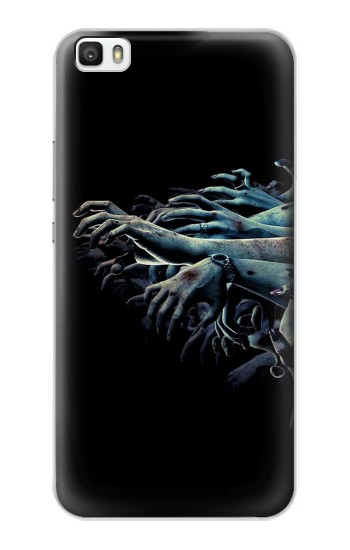 Printed Zombie Hands Huawei P8max Case