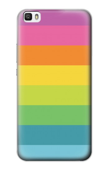 Printed Rainbow Pattern Huawei P8max Case