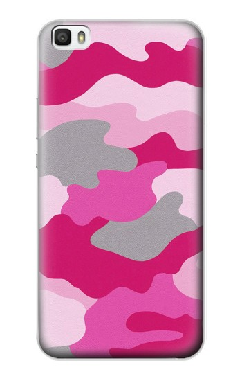 Printed Pink Camouflage Huawei P8max Case