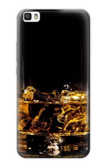 Printed Ice Whiskey Glass Huawei P8max Case