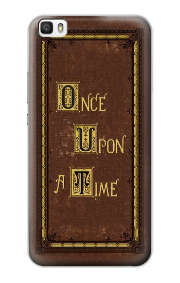Printed Once Upon a Time Book Cover Huawei P8max Case