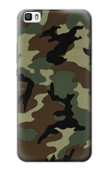 Printed Army Green Woodland Camo Huawei P8max Case