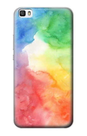 Printed Colorful Watercolor Huawei P8max Case