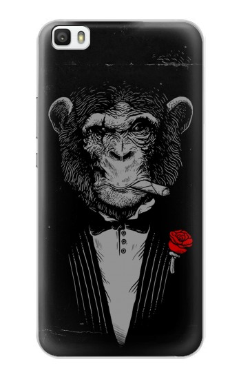 Printed Funny Monkey God Father Huawei P8max Case