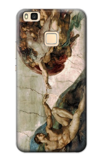Printed Michelangelo The creation of Adam Huawei P9 Lite / G9 Lite Case