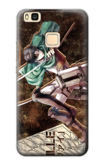Printed Attack on Titan Rivaille Huawei P9 Lite / G9 Lite Case