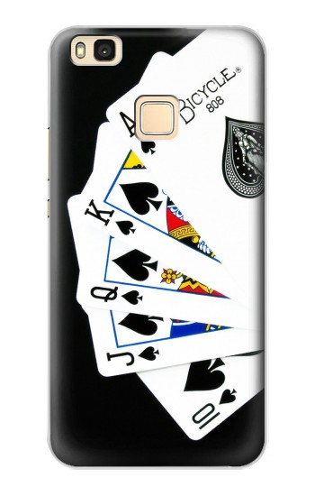 Printed Poker Royal Straight Flush Huawei P9 Lite / G9 Lite Case
