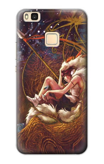 Printed Princess Mononoke The Spirit Princess Huawei P9 Lite / G9 Lite Case