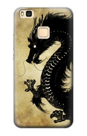 Printed Black Dragon Painting Huawei P9 Lite / G9 Lite Case