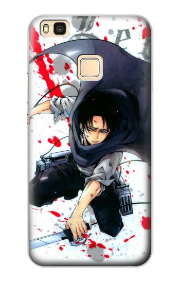 Printed Attack on Titan Rivaille Levi Huawei P9 Lite / G9 Lite Case