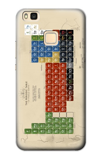 Printed The Periodic Table of Middle Earth The Lord of The Rings Huawei P9 Lite / G9 Lite Case