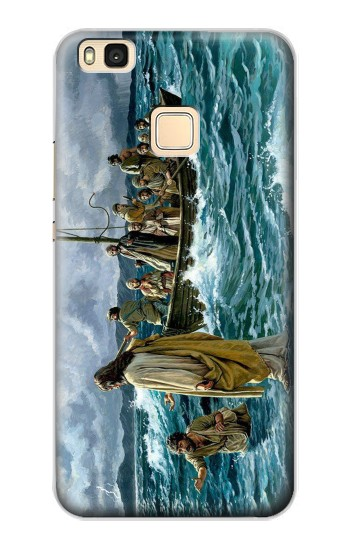 Printed Jesus Walk on The Sea Huawei P9 Lite / G9 Lite Case