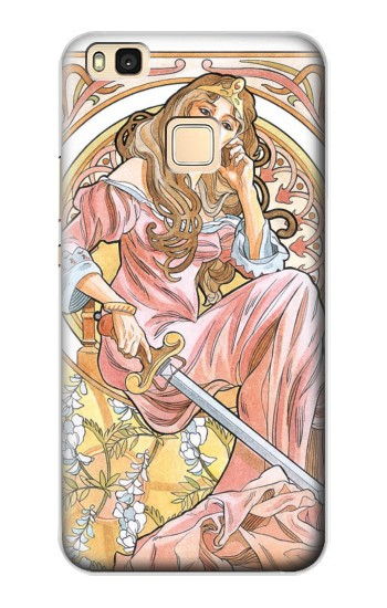 Printed Queen of Swords Tarot Huawei P9 Lite / G9 Lite Case