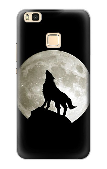 Printed Wolf Howling at The Moon Huawei P9 Lite / G9 Lite Case