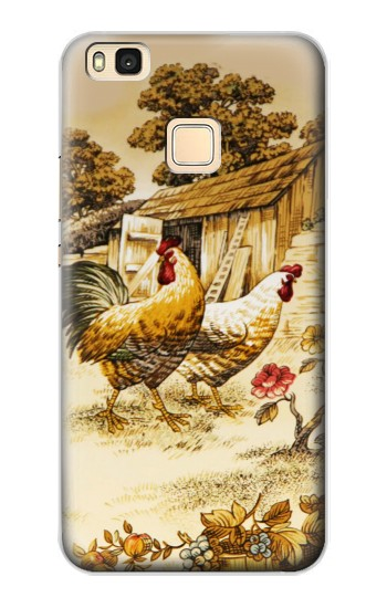 Printed French Country Chicken Huawei P9 Lite / G9 Lite Case