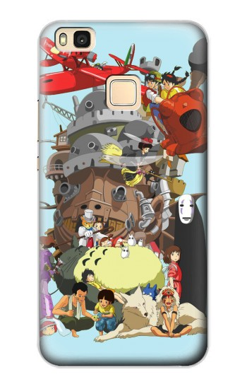 Printed Totoro Mononoke and Friends Huawei P9 Lite / G9 Lite Case