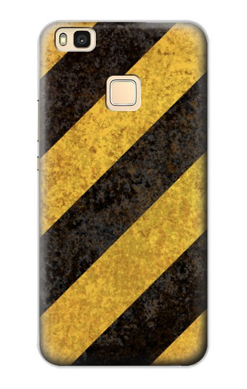 Printed Yellow and Black Line Hazard Striped Huawei P9 Lite / G9 Lite Case