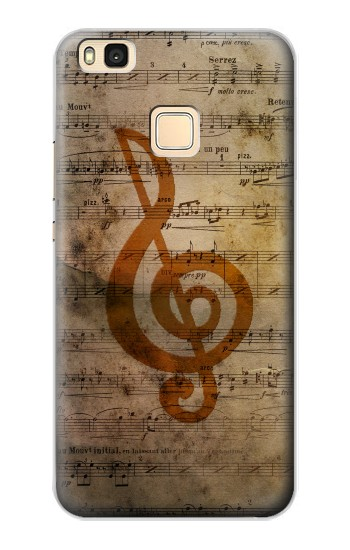 Printed Sheet Music Notes Huawei P9 Lite / G9 Lite Case