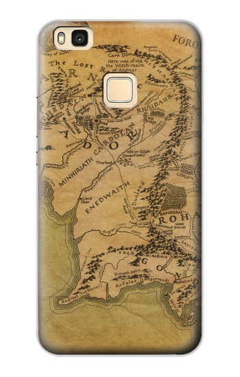 Printed The Lord Of The Rings Middle Earth Map Huawei P9 Lite / G9 Lite Case
