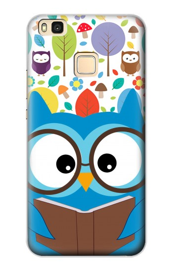 Printed Cute Owl Cartoon Huawei P9 Lite / G9 Lite Case