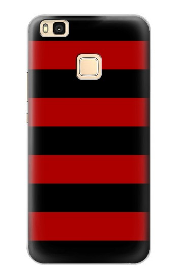 Printed Black and Red Striped Huawei P9 Lite / G9 Lite Case