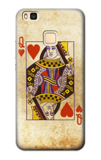 Printed Poker Card Queen Hearts Huawei P9 Lite / G9 Lite Case