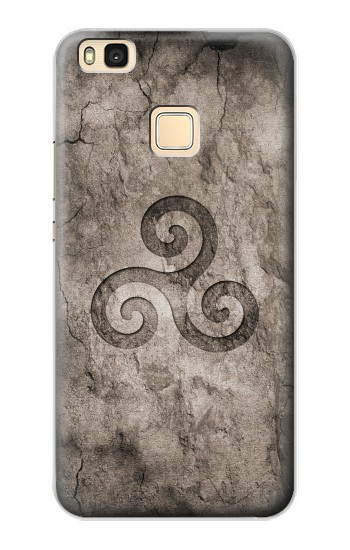 Printed Triskele Symbol Stone Texture Huawei P9 Lite / G9 Lite Case