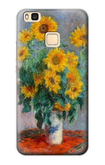 Printed Claude Monet Bouquet of Sunflowers Huawei P9 Lite / G9 Lite Case