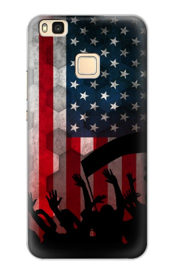 Printed USA American Football Flag Huawei P9 Lite / G9 Lite Case