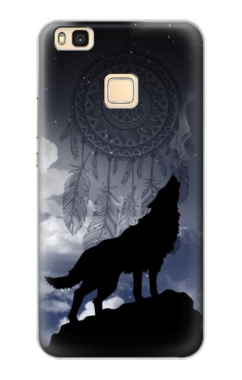 Printed Dream Catcher Wolf Howling Huawei P9 Lite / G9 Lite Case