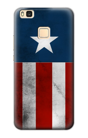 Printed Captain Star Flag of America Huawei P9 Lite / G9 Lite Case