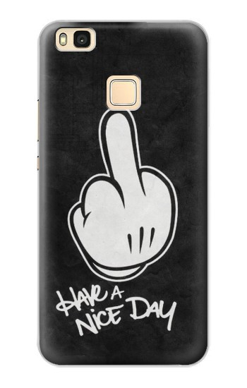 Printed Nice Day Middle Finger Huawei P9 Lite / G9 Lite Case