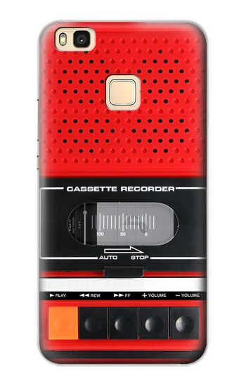 Printed Red Cassette Recorder Graphic Huawei P9 Lite / G9 Lite Case
